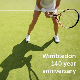 Wimbledon - 140 glorious years of outstanding tennis