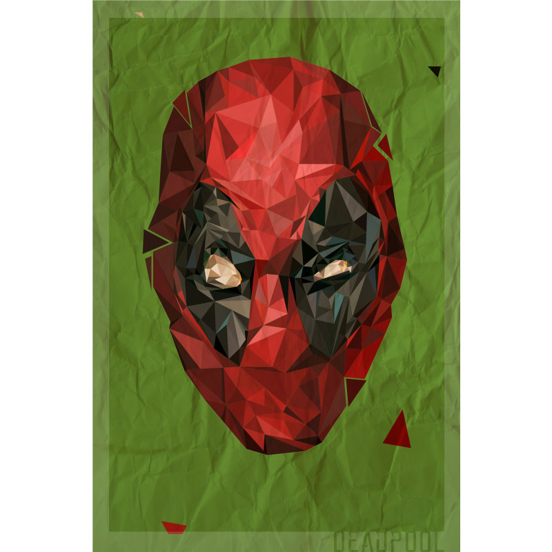 Polygon Heroes 04 (Deadpool)