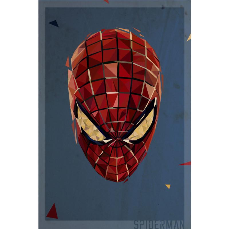 Polygon Heroes 06 (Spiderman)
