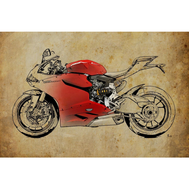 Buy Ducati 1199 Panigale 2 Online Official Ducati Wall Art