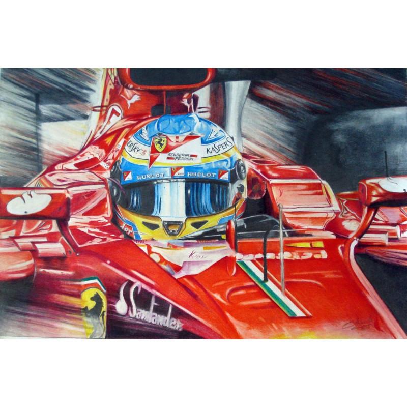 Buy Fernando Alonso - Ferrari F1 138 Online