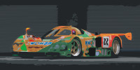 Mazda Race Car