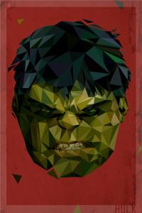 Polygon Heroes 01 (The Hulk)