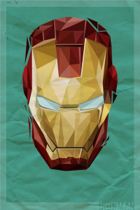 Polygon Heroes 02 (Iron Man)