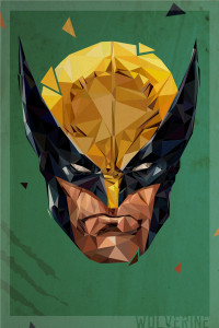 Polygon Heroes 05 (Wolverine Of X-Men)