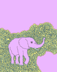 Elephant Drawing Meditation