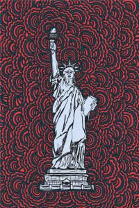 Statue Of Liberty Drawing Meditation