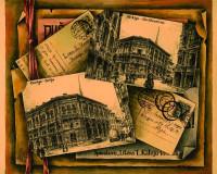 Old Riga In Centuries. The Burse.