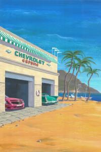 American Chevrolet Poster