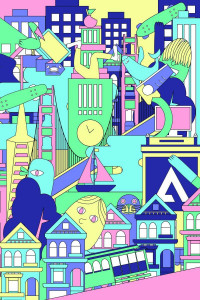 San Francisco City Poster