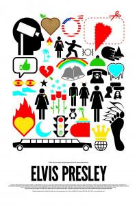 Elvis Presley Icon Poster