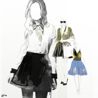 Fashion Illustration No. 1