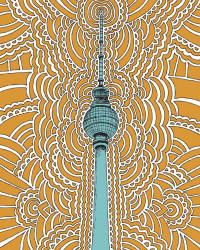 Fernsehturm - Orange
