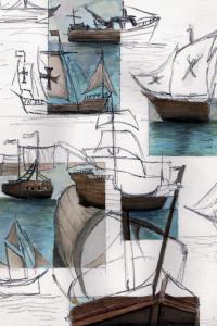 Tall Ship Sketch