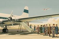 Thirties Retro Airline Poster