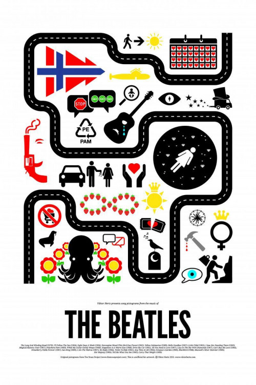 The Beatles Icon Poster